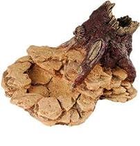Critter Creations (Sporn) SZN00952 Small Animal Desert Rock and Wood Feeding Dish