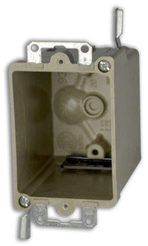Allied Moulded H9368=Ewk Single Gang Fiberglass Box