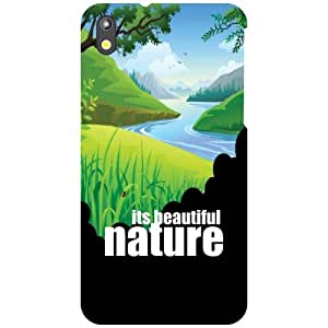 HTC Desire 816G Back Cover - Abstract Designer Cases