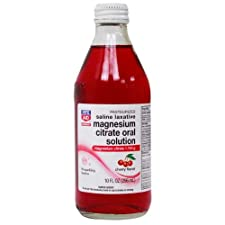 Rite Aid Brand Magnesium Citrate Oral Solution, 1.745 g, Cherry Flavor 10 fl oz (296 ml)