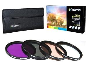 Polaroid Optics juego de filtros de 49 mm de 4 piezas (UV, CPL, FLD, WARMING) - Electrónica revisión y más información