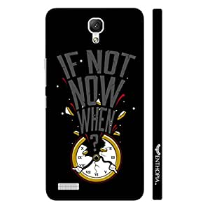 Xiaomi Redmi Note If not now when... designer mobile hard shell case by Enthopia