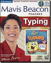 Mavis Beacon Teaches Typing 17 Deluxe w/ SpongeBob Typing CD