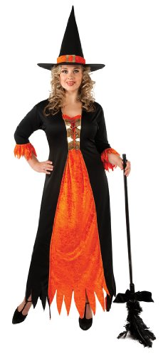 Plus Size Adult Gothic Witch Costume - Womens Full