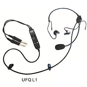 UFQ in-ear type aviation headset UFQ L-1 Super Light Weight - Quiet as ANR! from UFQ avionics