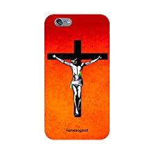 buy Homesogood Holy Jesus Cross Red 3D Mobile Case For Iphone 6 (Back Cover)