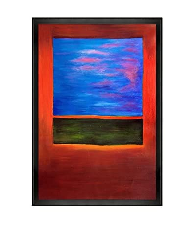 """Mark Rothko """"Violet, Green And Red, 1951"""" Framed Oil Reproduction"""