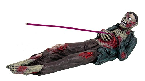 Zombie Incense Holder Collectible Aroma Scent Burner Sculpture Figurine