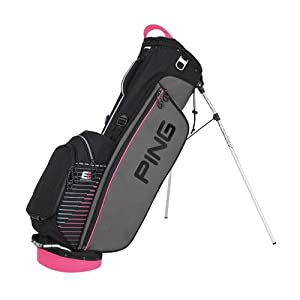 Ping 4 Series II Carry Bag (Charcoal Black Pink) by Ping
