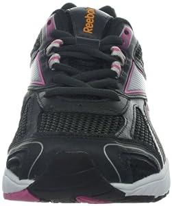 Reebok Women's Pheehan Running Shoe,Gravel/Silver/Optimal Pink/Neon Orange,7.5 M US