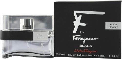 Salvatore Ferragamo F Ferragamo Black By Salvatore Ferragamo For Men Eau De Toilette Spray, 3.4-Ounce / 100 Ml