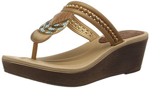 GrendhaTribal Ii - Sandali donna , Oro (Oro (Gold)), 38