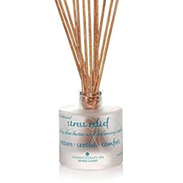 Stress Relief - 3 Oz Shea Butter & Cedarwood Reed Diffuser Aromatherapy Spa Yankee Candle