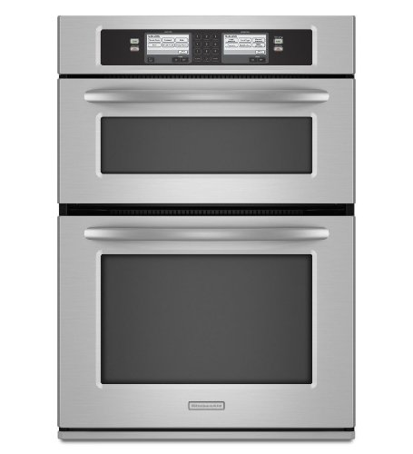 Kitchenaid KEHU309SSS 30 Built-In Microwave/Oven Combination with Steam-Assist Technology
