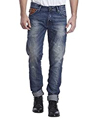 Jack & Jones Men Casual Jeans (5713022344025 Medium Blue Denim 34W x 34L )