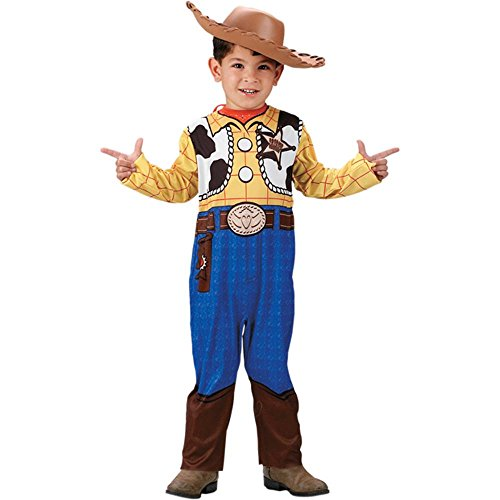 Boy's Toy Story Woody Halloween Costume (Size:Small 4-6)