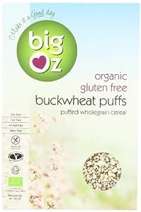 Big Oz Organic Buckwheat Puffs 175 g (Pack of 5)