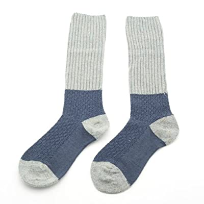 Heather Wool Mix Socks