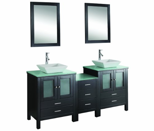 Virtu Usa Md 4472 Brentford 72 Inch Double Sink Bathroom