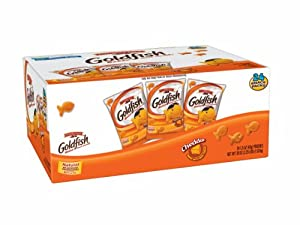 Pepperidge Farm Goldfish, Cheddar, 1.5 Ounce Bags (Pack of 24)