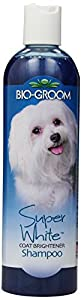 Bio-Groom Super White Pet Shampoo, 12-Ounce