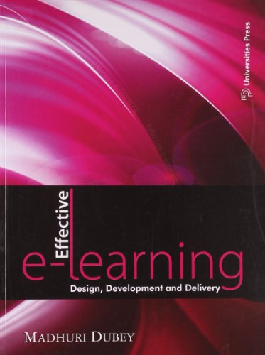 Effective E-learning: Design, Development and Delivery Image