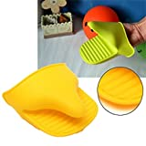 Silicone Oven Mitt Microwave Baking Mitts Heat Proof Glove BBQ Tool