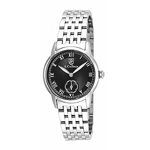 Invicta S. Coifman SC0348 30mm Silver Steel Bracelet & Case flame fusion Women's Watch
