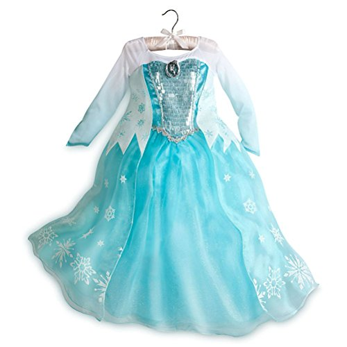 Disney Store Frozen Elsa Costume Dress - Big Girls