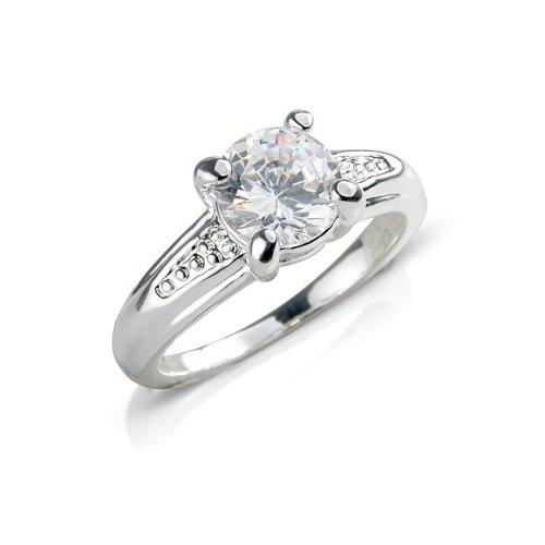 Classic Diamante Costume Jewellery Fashion Ring.
