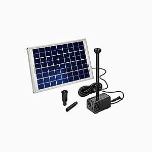 Esotec SHS SolarTeichpumpensystem mit Akku, Größe 2  GartenÜberprüfung und weitere Informationen