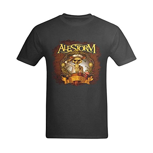LittleArt Men's Alestorm In The Navy Cover T-Shirt XLarge