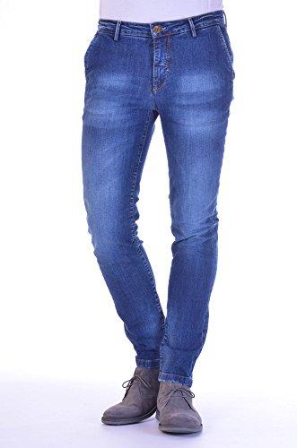 Yan Simmon - Pantalone Uomo Slim Blu 54
