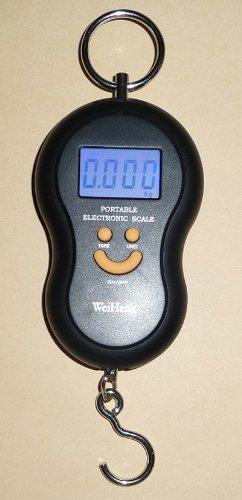 高精度光デジタルフォースゲージ吊りはかり1gの単位で5kgまで計量温度も測定デジタル吊はかりスケール秤