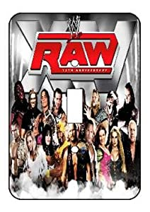 WWE Raw Light Switch Plate Cover!! Brand New