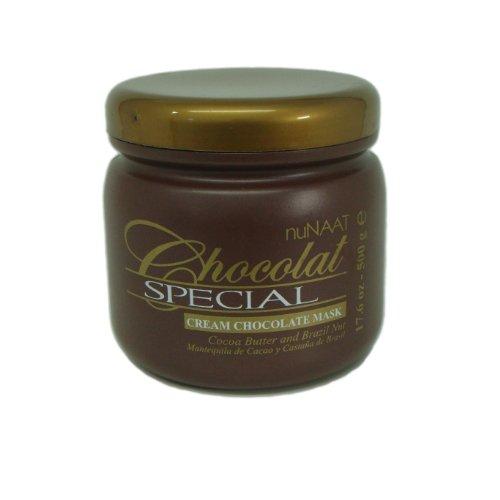 Brazilian Haircare Nunaat Chocolate Cream Mask [Health and Beauty]