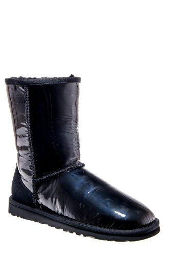 UGG Australia Classic Short Patent Flat Boot