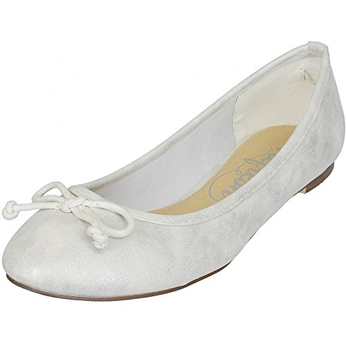 Refresh Shoes, Ballerine donna Oro oro, Oro (argento), 41
