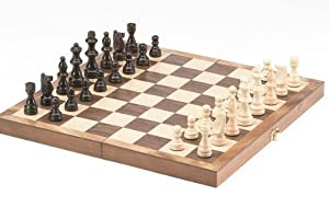 CHH 15-Inch Standard Wooden Chess Set