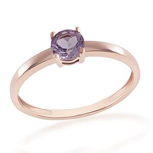 Goldmaid Damen-Ring Summerfeeling 375 Rotgold 1 Amethyst Gr. 54 Fa R5756RG54
