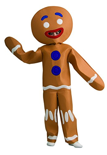 Shrek Child's Costume And Mask, Gingerbread Man Costume