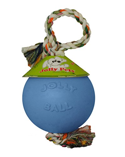 jolly-pets-joll050b-hundespielzeug-ball-romp-n-roll-15-cm-hellblau