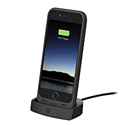 mophie juice pack Desktop Dock CHARGER for iPhone 6- Black