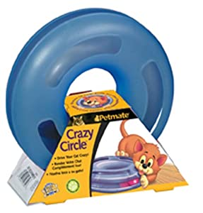 Petmate Crazy Circle Interactive Cat Toy, Small