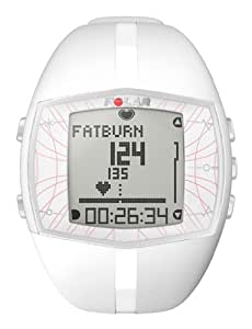 Polar FT40 Women's Heart Rate Monitor Watch (White)