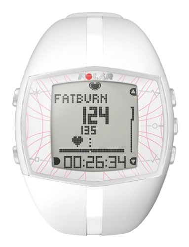 Polar Ft40F Womens Heart Rate Monitor Watch(White)