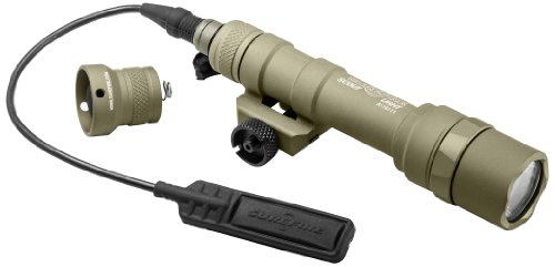 Surefire M600 Ultra Scout Ultra-High Output Led Weapon Light, Tan