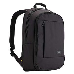 """Case Logic MLBP115K Sac a dos en nylon pour Ordinateur portable 15,6"""" + MacBook Pro 15"""" + Tablette pc 10,1"""" Noir"""