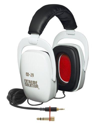 Direct Sound Ex-29W Extreme Isolation Headphones - White