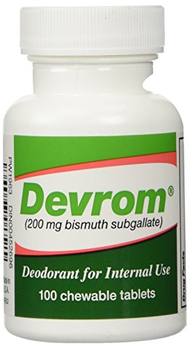 DEVROM-Tablets-Internal-Deoderant200MG-100chewable-tablets